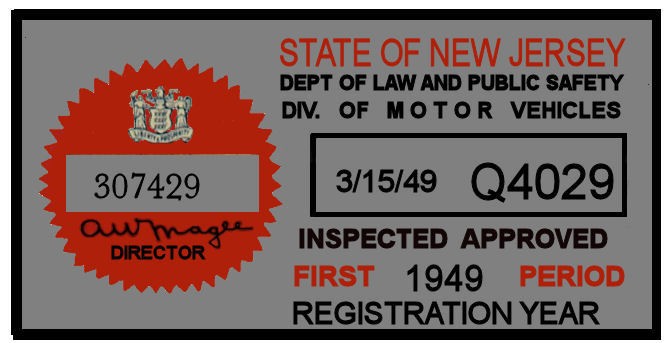 Inspection sticker nj 2016 satu sticker for Motor vehicle inspection nj