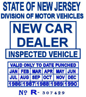 Motor vehicle inspection station nj for Motor vehicle inspection nj