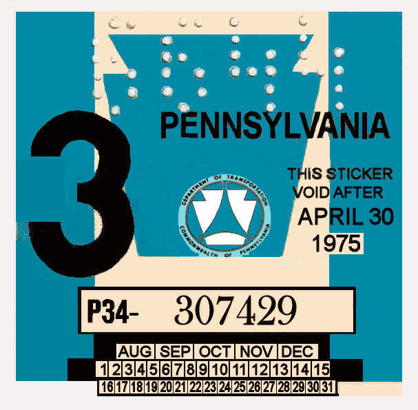 1975-3 Pennsylvania inspection