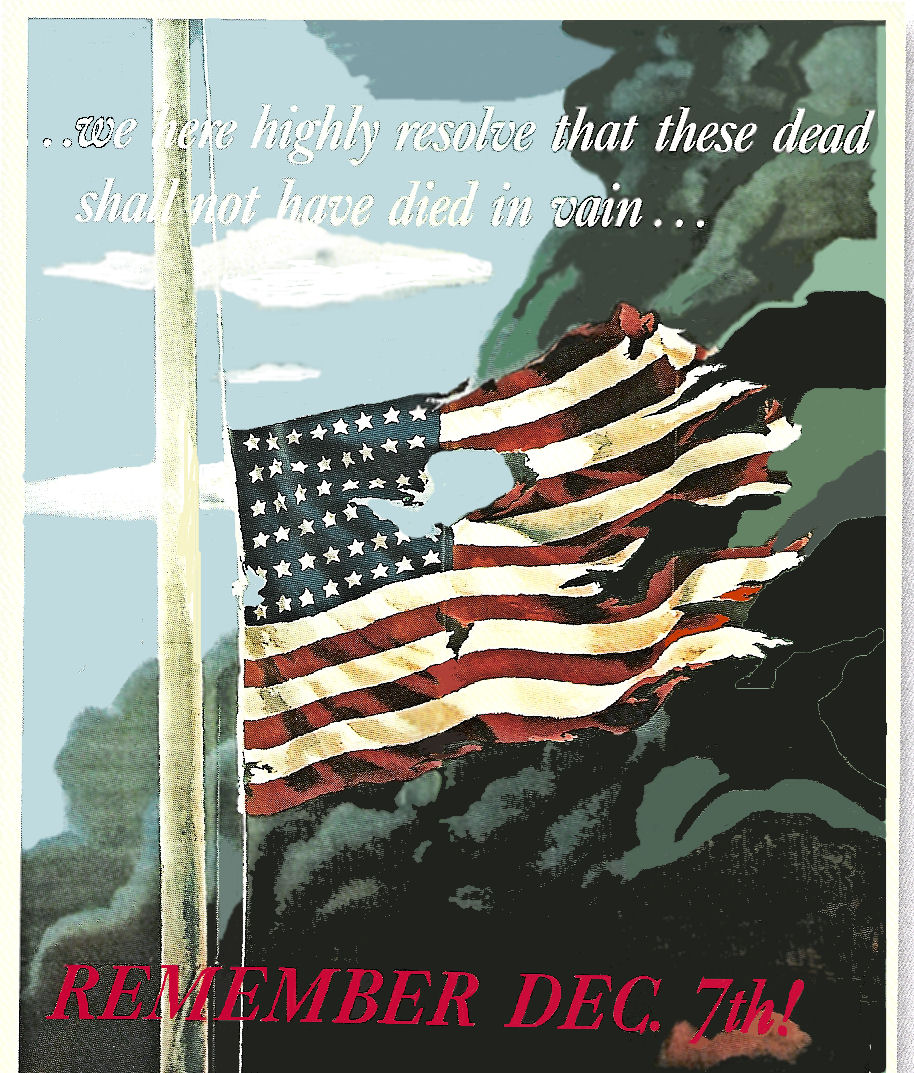 1942 Remember December 7th L@@K at this