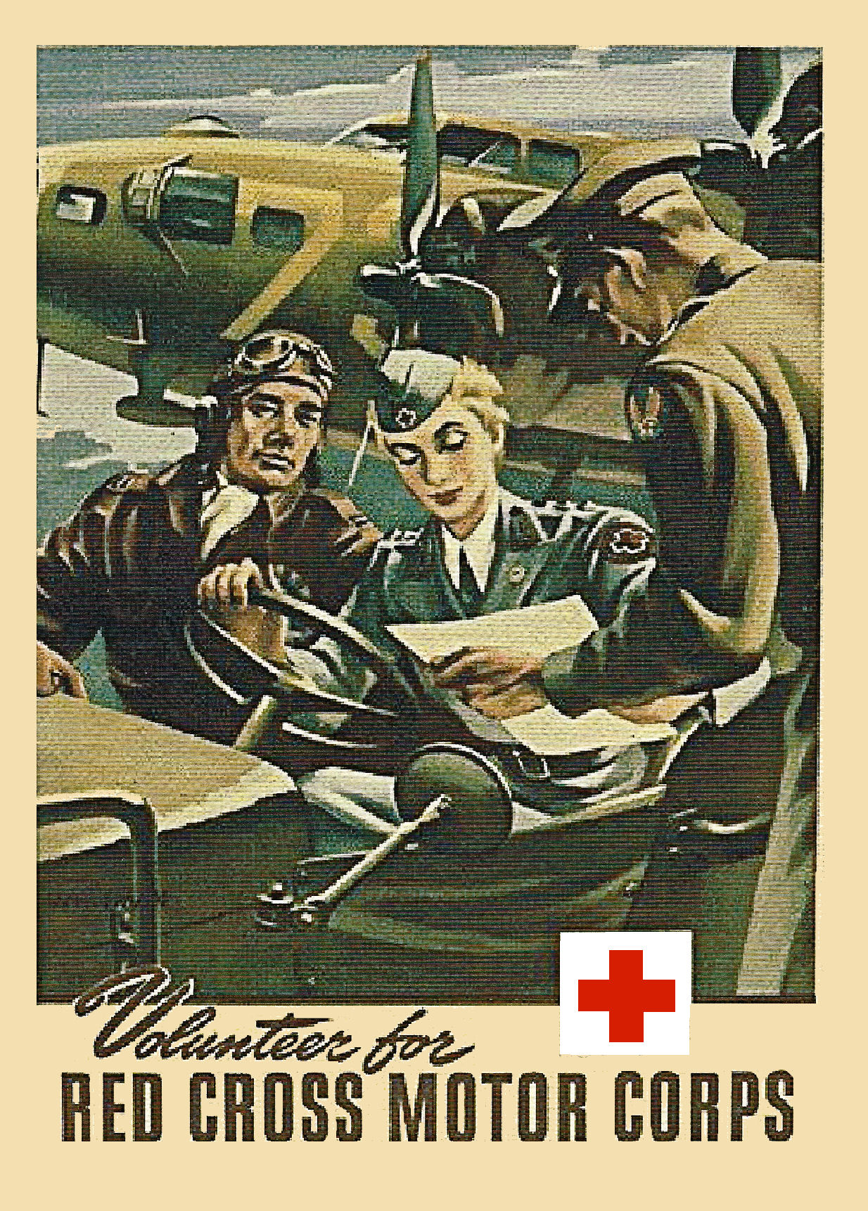 1942 Red Cross Motor Corps