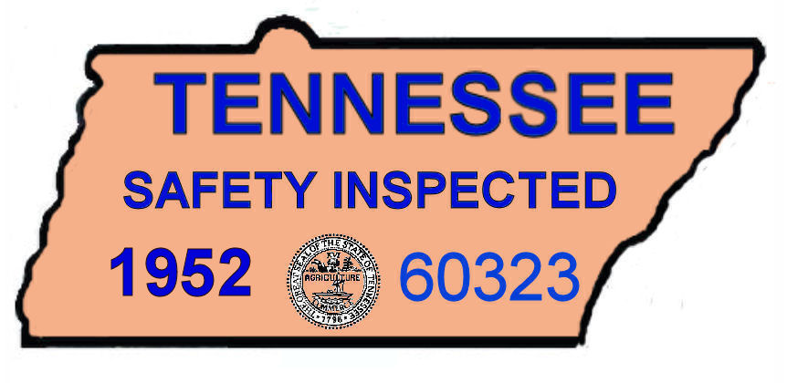 1952 Tennessee Safety inspection