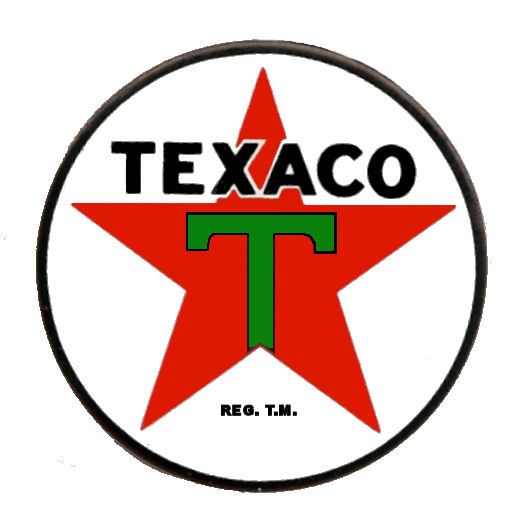 Texaco Gasoline Sticker
