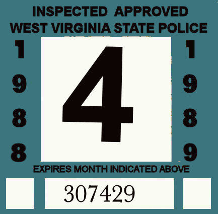 1988-89 West Virginia inspection