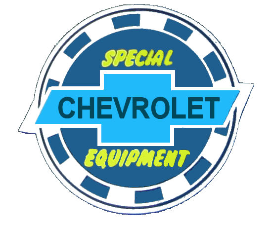Chevrolet Special Equipment sticker