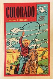 Colorado Vintage Vacation Sticker