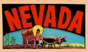 Nevada Vintage Vacation Sticker