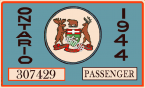 1944 Ontario registration/inspection