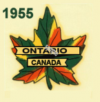 1955 Ontario inspection/registration sticker