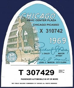 1969 Illinois tax inspection CHICAGO