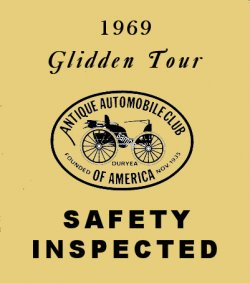 Gliden Tour 1969 Safety Inspected