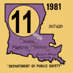 1981 Louisiana State inspection