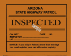 1932-39 Arizona inspection