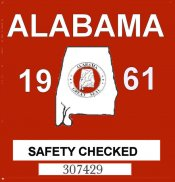 1961 Alabama Safety Check