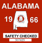 1966 Alabama Safety Checked