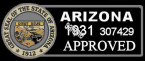1931 Arizona Inspection Sticker