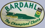 BARDAHL Oil Sticker