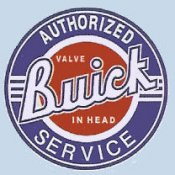 Buick authorized service Logo 1960's