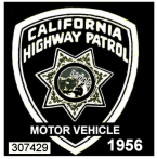1956 California Inspection Sticker