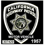 1957 California Inspection Sticker