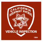 1964 California Inspection Sticker