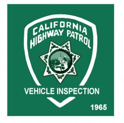 1965 California Inspection Sticker