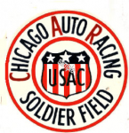 Chicago Racing Soldier Field 1950's