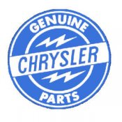 CHRYSLER Genuine Parts Logo