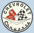 Corvette Sticker 1950s