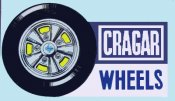 Cragar Wheels window sticker