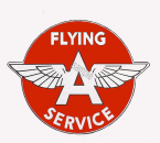FLYING A Gas Logo