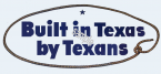 1955-59 Built in Texas by Texans Ford Plant sticker (LARGE)