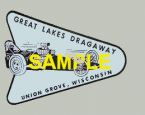 Great Lakes Dragway, Union Grove, Wisconsin