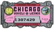 1940 IL tax inspection CHICAGO