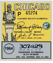 1964 IL tax registration CHICAGO