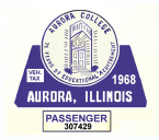 1968 Illinois Tax/inspection AURORA