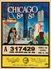 IL 1984-85 Illinois tax inspection CHICAGO