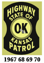 1967-70 Kansas Inspection Sticker