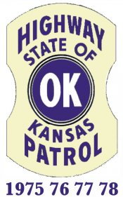 1975 - 1978 Kansas INSPECTION Sticker