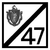 1947 Massachusetts FALL Inspection Sticker