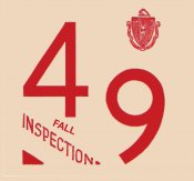 1949 Massachusetts FALL INSPECTION Sticker