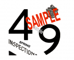 1949 Massachusetts SPRING INSPECTION Sticker