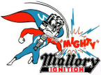 MALLORY Ignition window Sticker