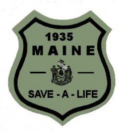 1935 Maine SPRING Inspection Sticker