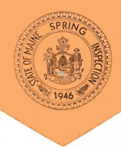 1946 Maine Spring In spection