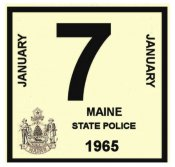 1965 Maine inspection sticker