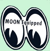 MOON EQUIPPED Sticker mini set of two