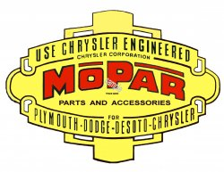 MOPAR logo's from the 40s DESOTO