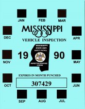 1990 Mississippi Inspection