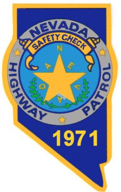 1971 Nevada Safety Check inspection sticker